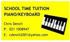 Piano:Keyboard Tuition
