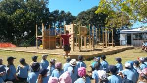 Playground opening photo1